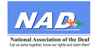 National Association of the Deaf